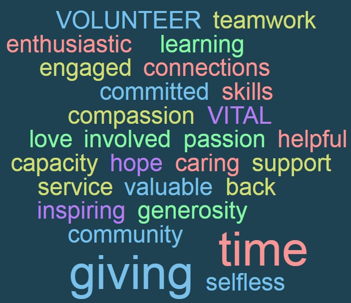 WordCloud-Volunteering